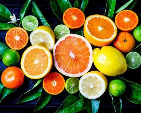 橙子、柠檬、柑橘